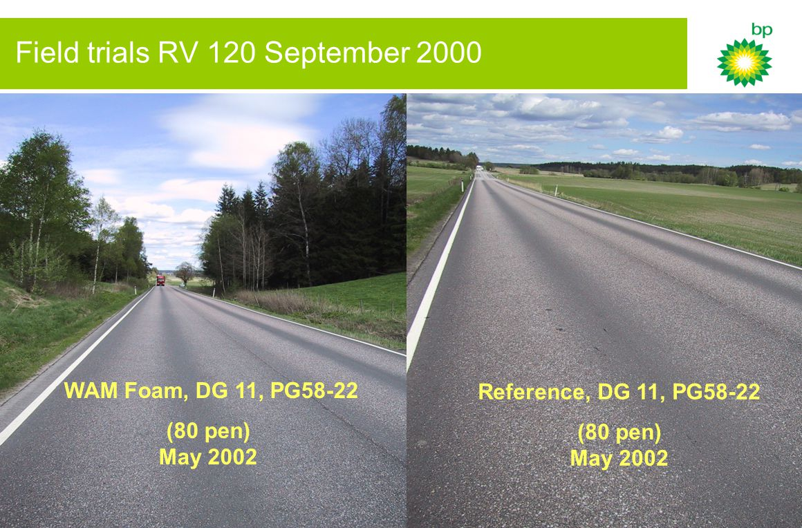 10 Rut development on RV 120 WAM Abg 11 3.2 mm/year 2.9 mm/år