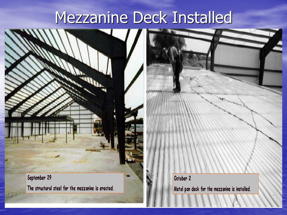 Mezzanine Deck Installed