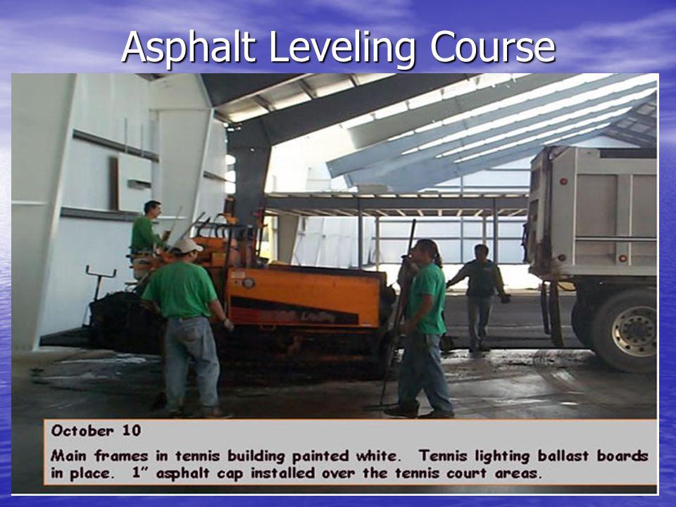 Asphalt Leveling Course