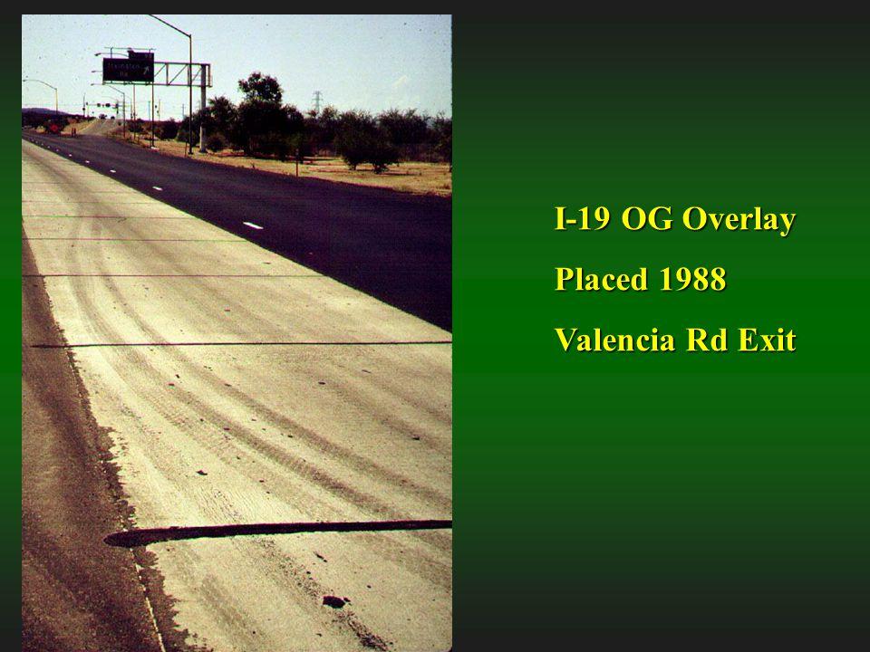I-19 OG Overlay Placed 1988 Valencia Rd Exit