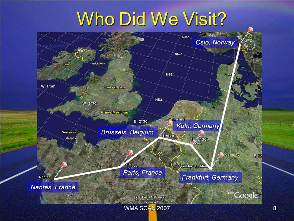 8 Who Did We Visit.