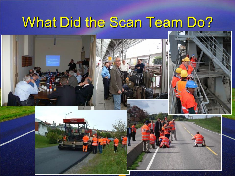 WMA SCAN 20079 What Did the Scan Team Do