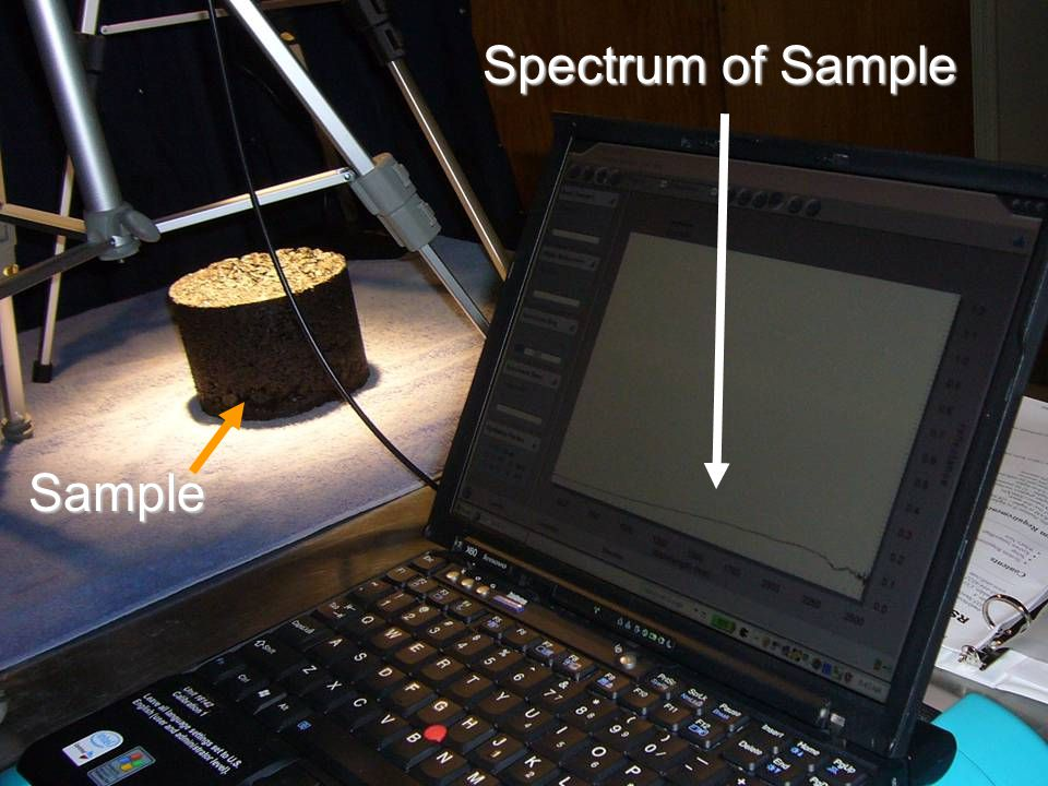 Spectrum of Sample Sample