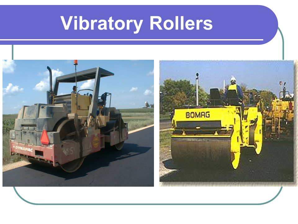 Vibratory Rollers
