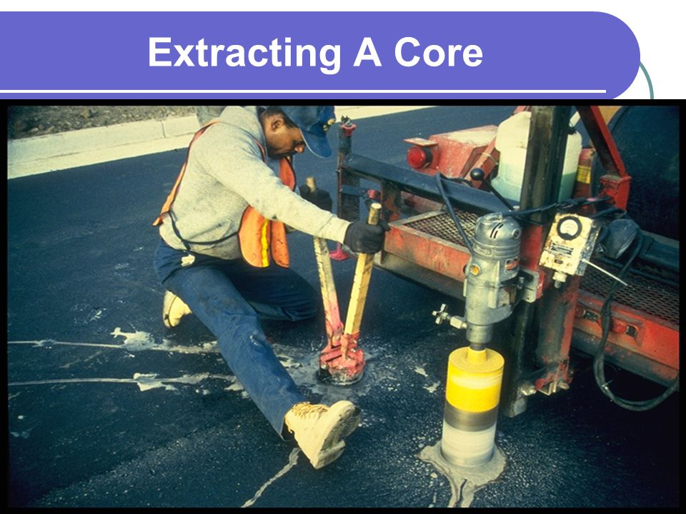 Extracting A Core