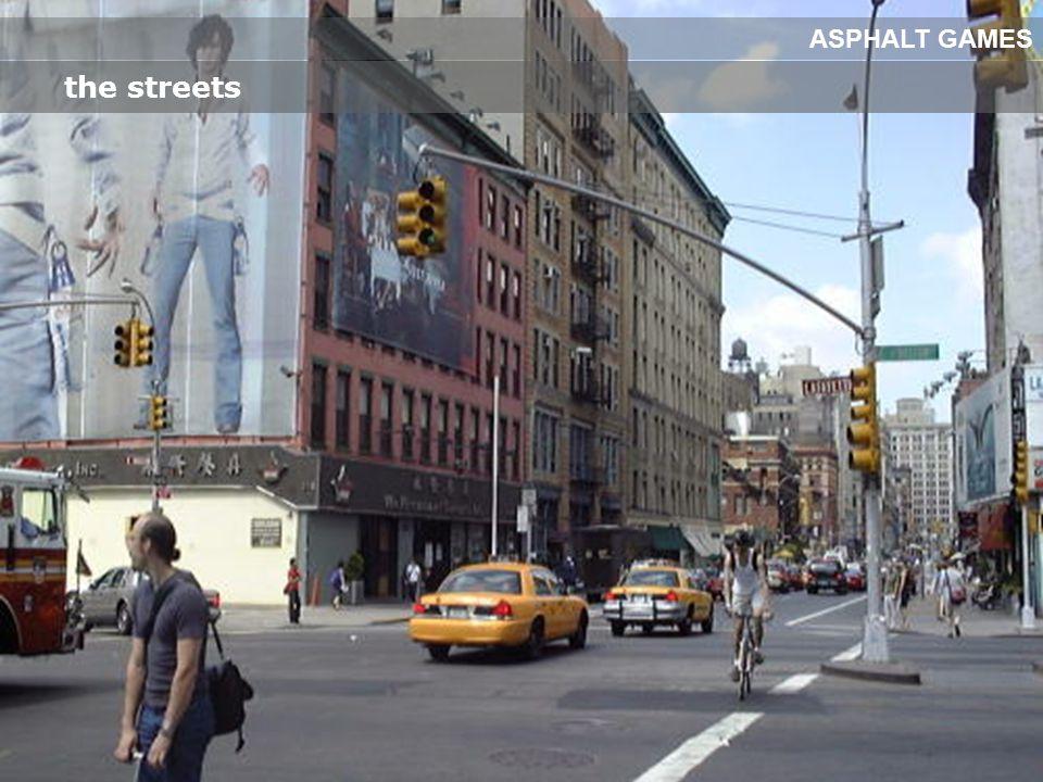 the streets ASPHALT GAMES