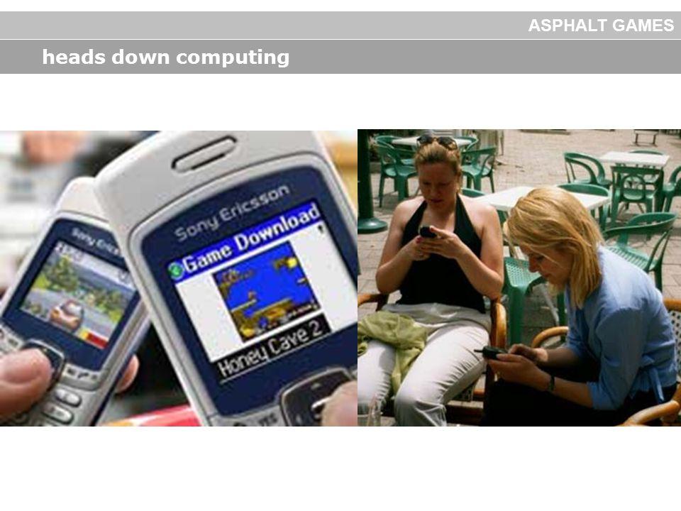 heads down computing ASPHALT GAMES