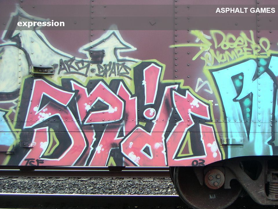 expression ASPHALT GAMES