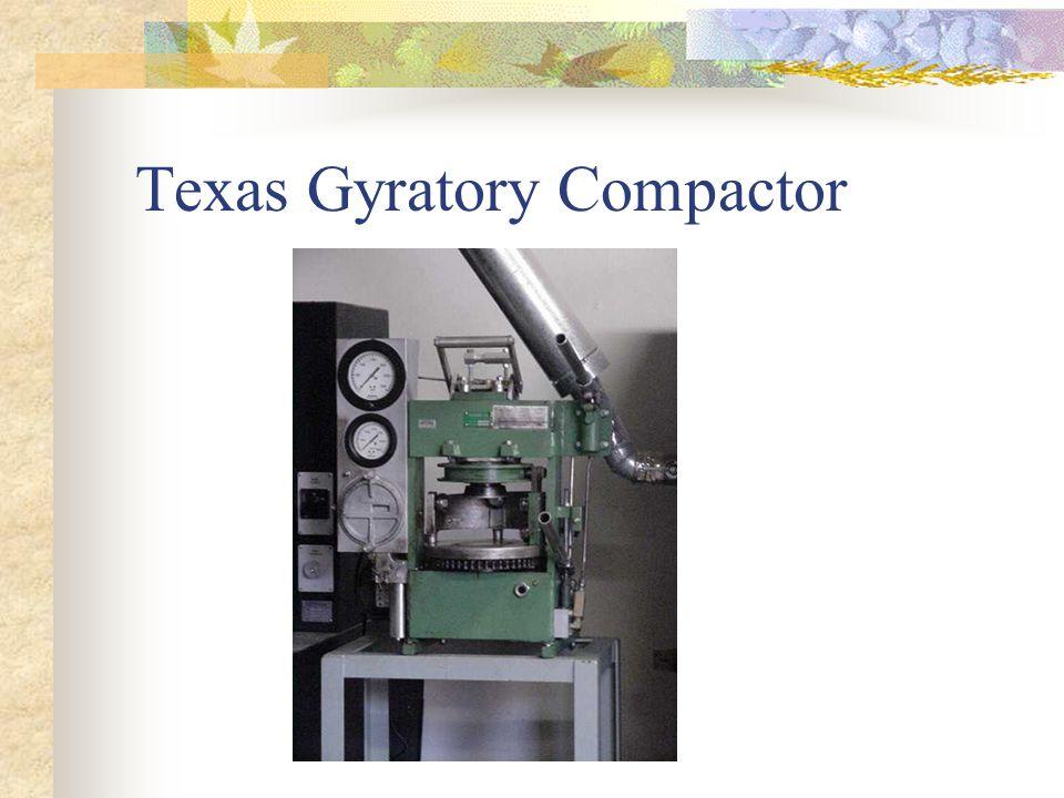 Texas Gyratory Compactor