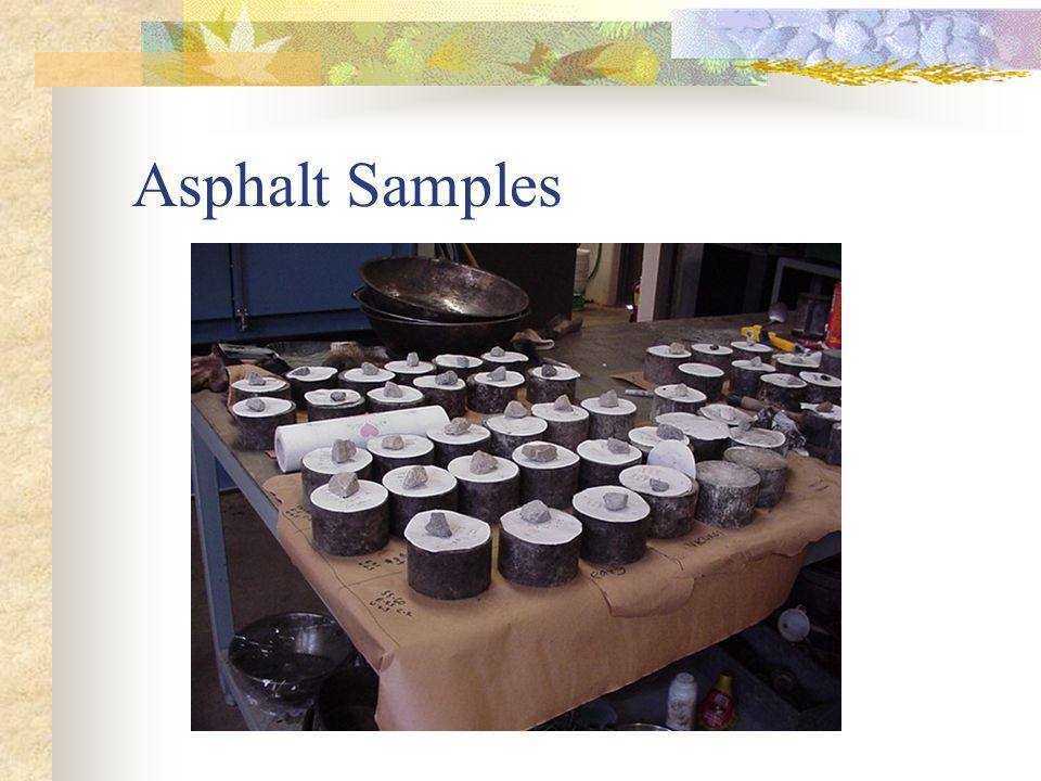 Asphalt Samples