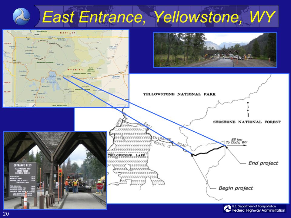 20 East Entrance, Yellowstone, WY