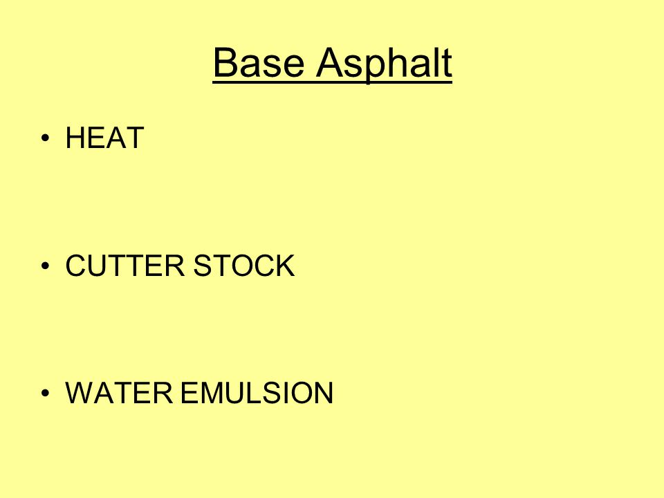 Asphalt is produced from the bottom of the distillation tower, hence the nickname bottom of the barrel .