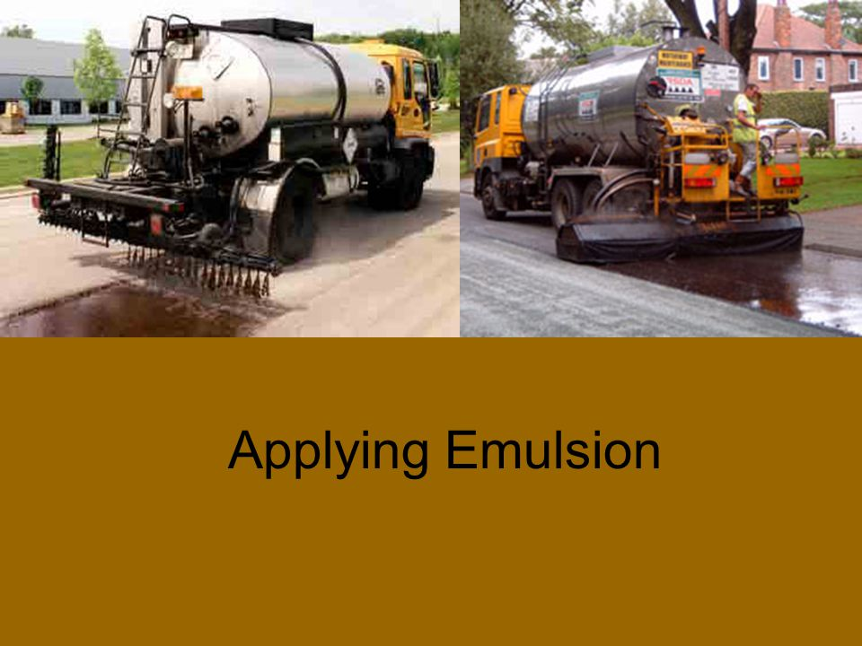 Asphalt Emulsions can be made in several ways, with the goal being consistent dispersion of the molecules