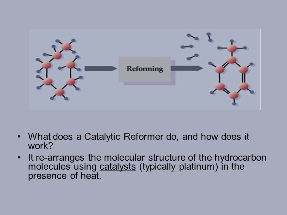 What does a Catalytic Cracker do.