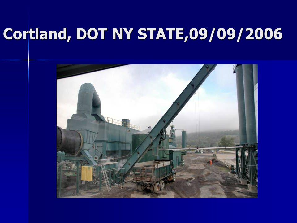Cortland, DOT NY STATE,09/09/2006