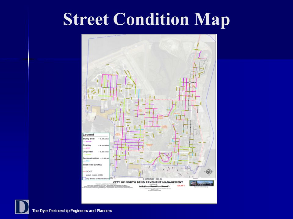 The Dyer Partnership Engineers and Planners Street Condition Map