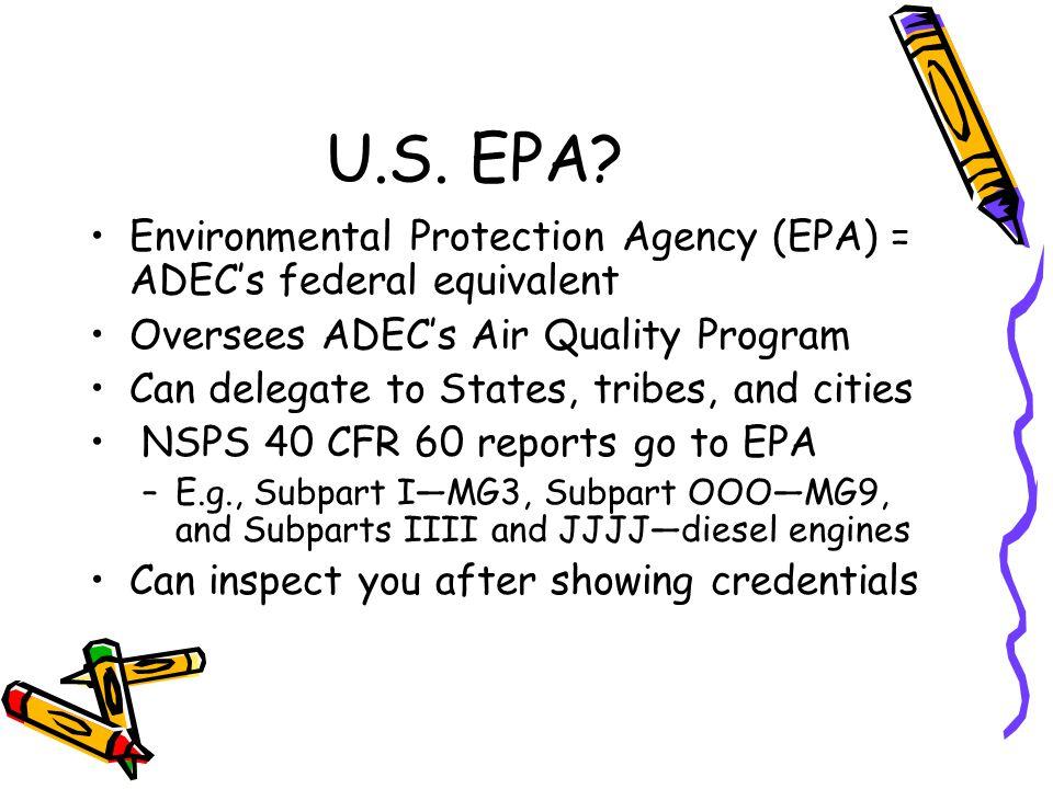 U.S. EPA.