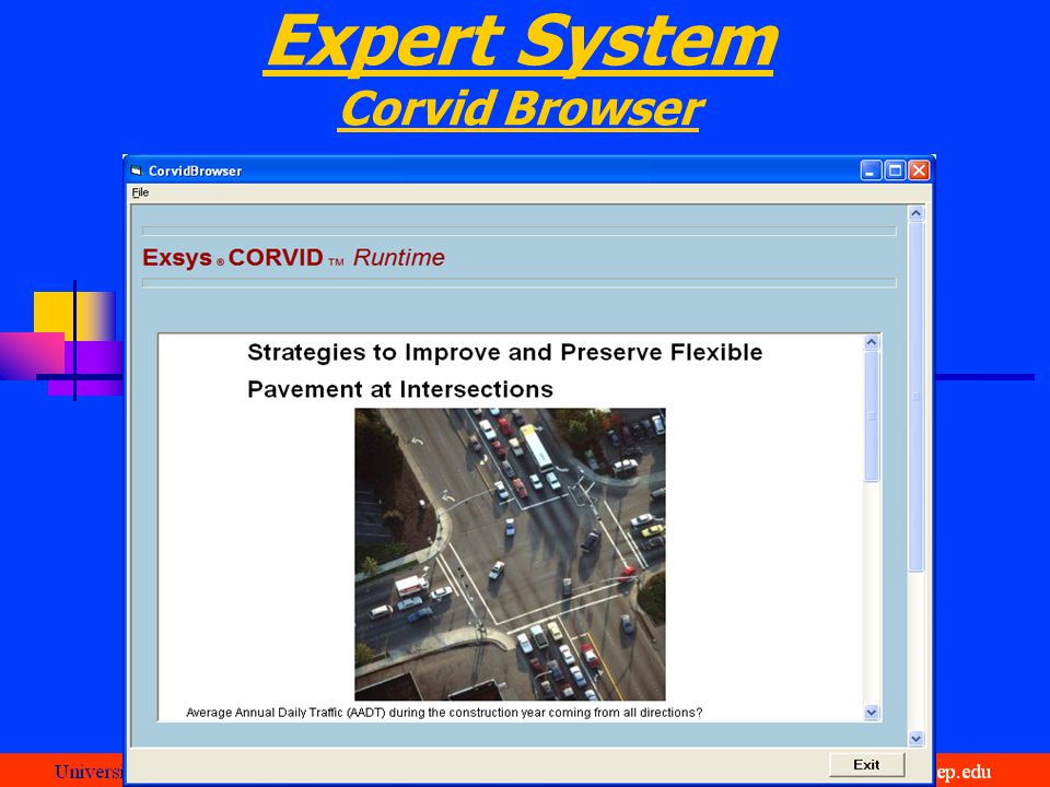 Expert System Corvid Browser