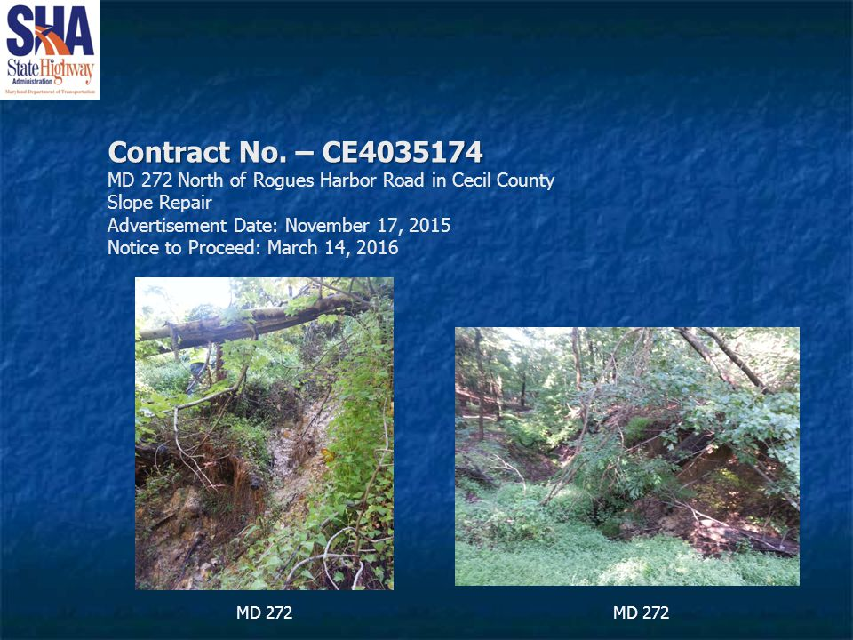 Contract No. – CE4035174 Contract No.