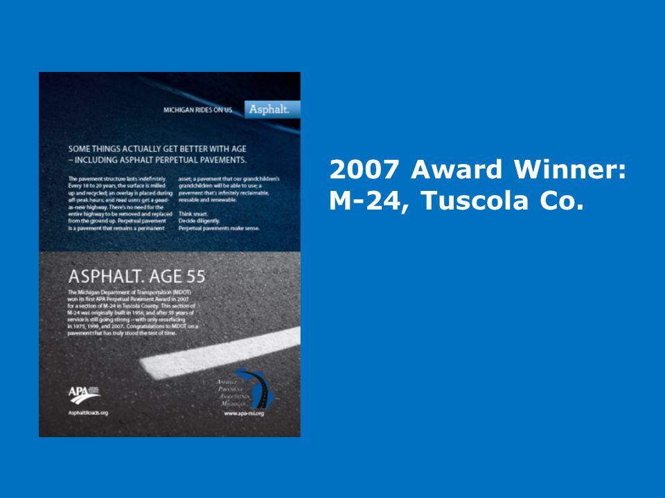 2007 Award Winner: M-24, Tuscola Co.