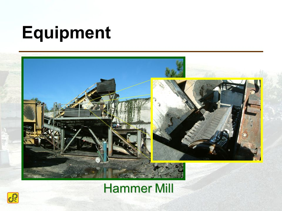 Equipment Hammer Mill