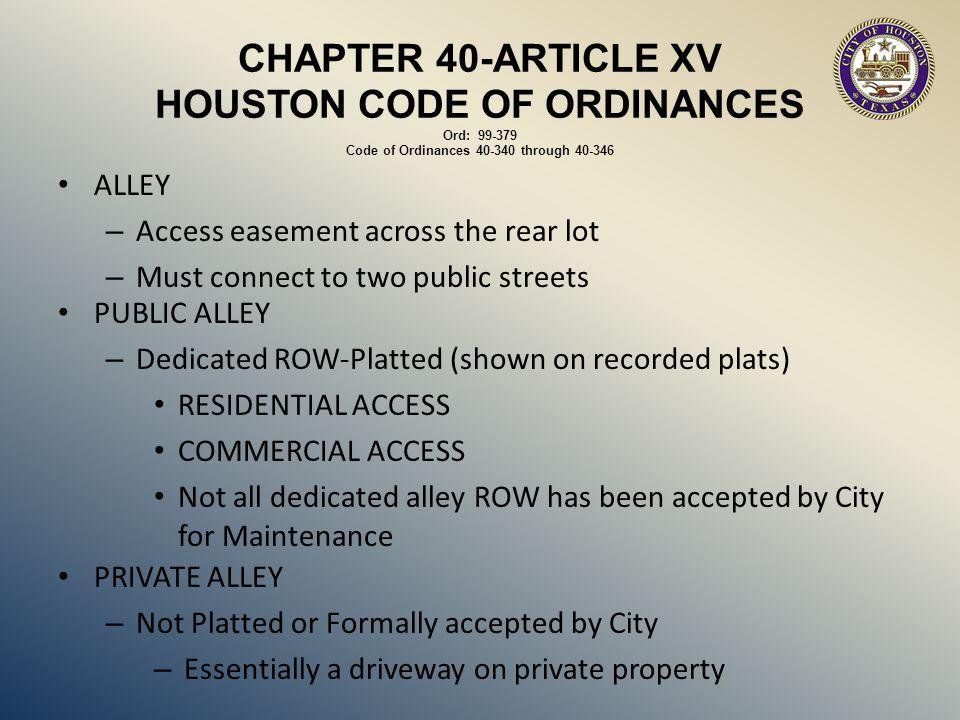 CONTACTS Code Enforcement Bobby Oakes832-394-9292 LegalGary Dzierlenga832-393-6287 Office of City EngineerRichard Smith832-394-9137 Lagnesh Varshney832-394-9100