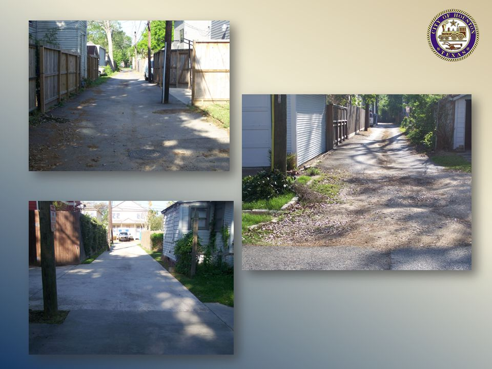 RESIDENTIAL ACCESS ALLEY PERMITTING 1002 Washington Ave.