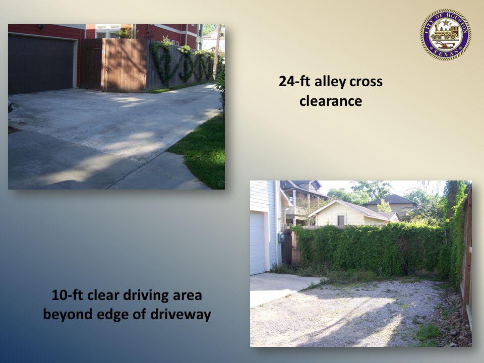 PUBLIC ALLEY ACCESS Asphalt Concrete V-section or culvert drainage Follow city design standard V Section Typical Design