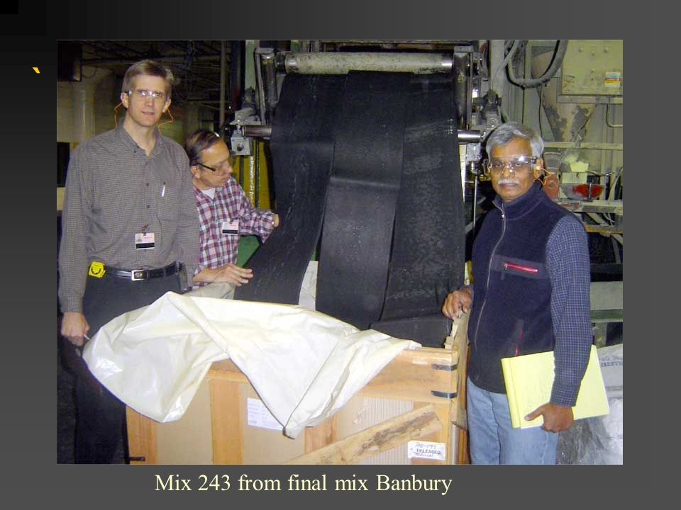 ` Mix 243 from final mix Banbury