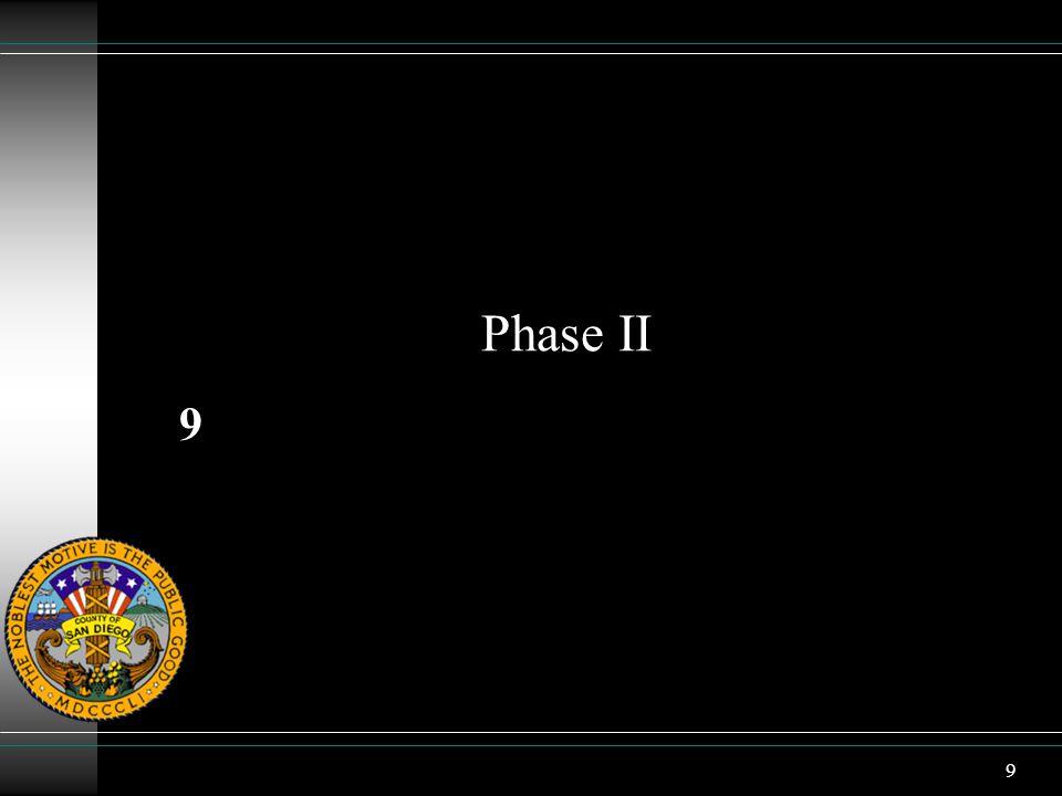 9 Phase II 9