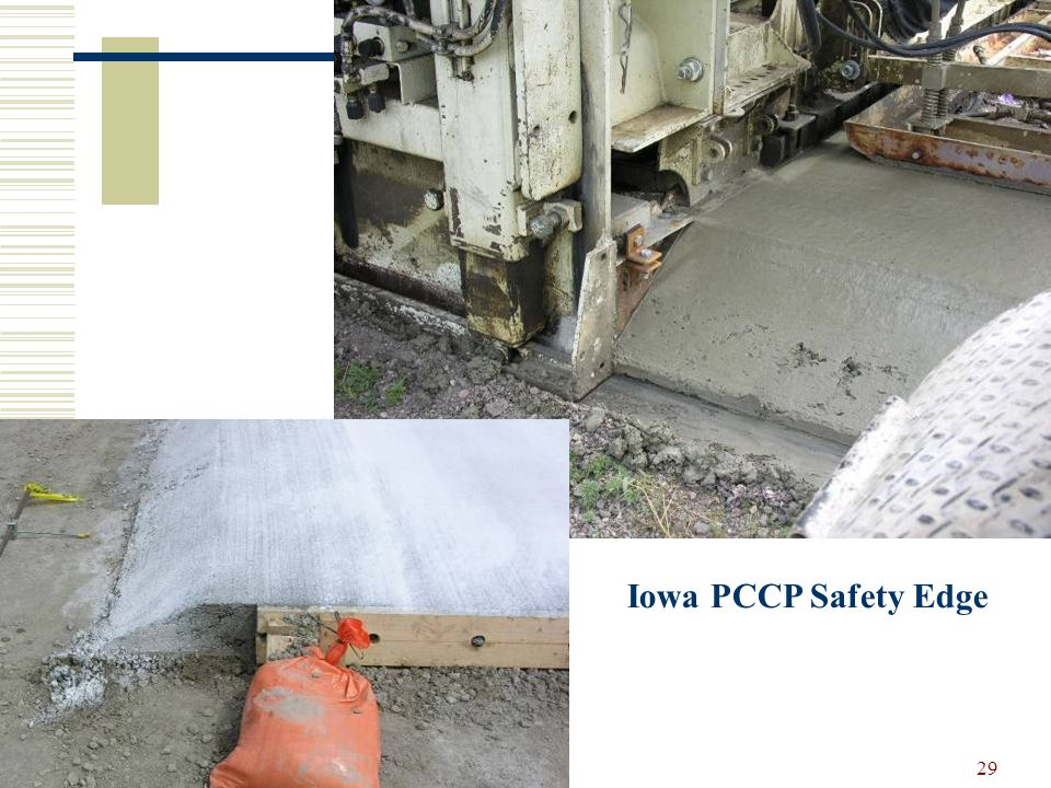 29 Iowa PCCP Safety Edge