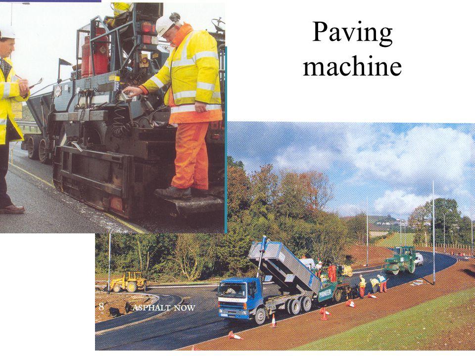 Paving machine