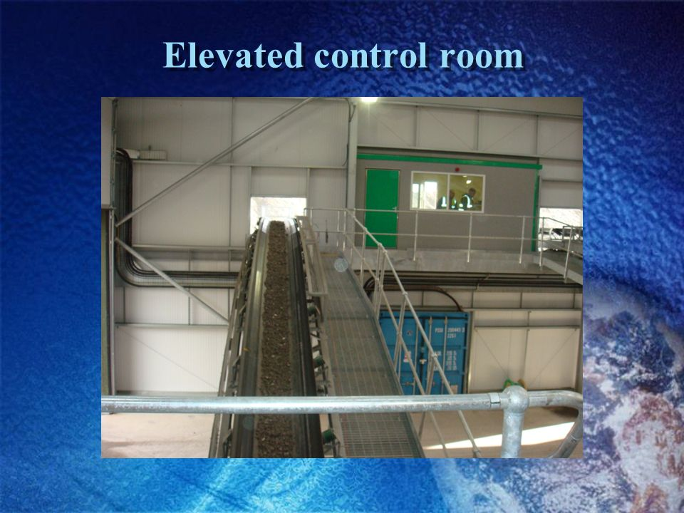 Elevated control room