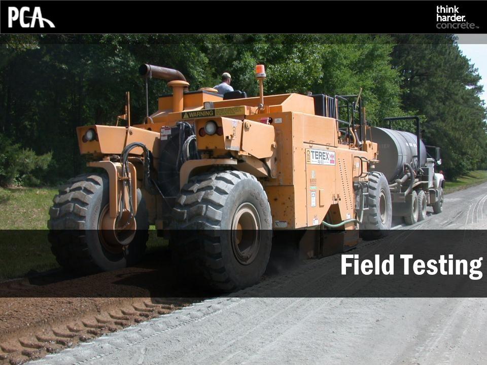 Field Testing