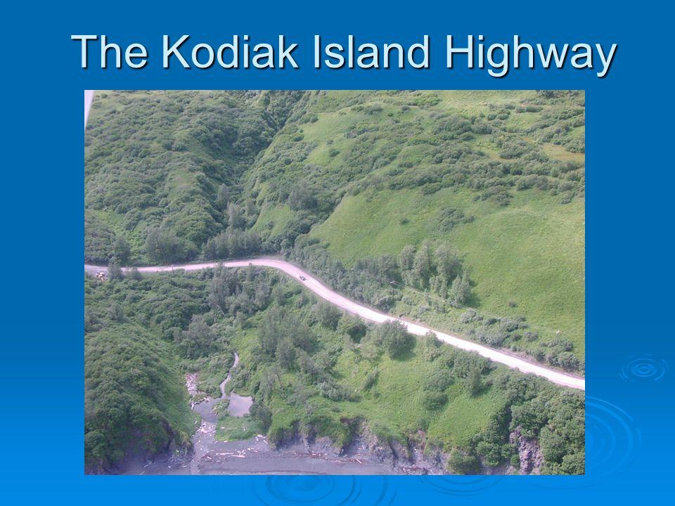 The Kodiak Island Highway