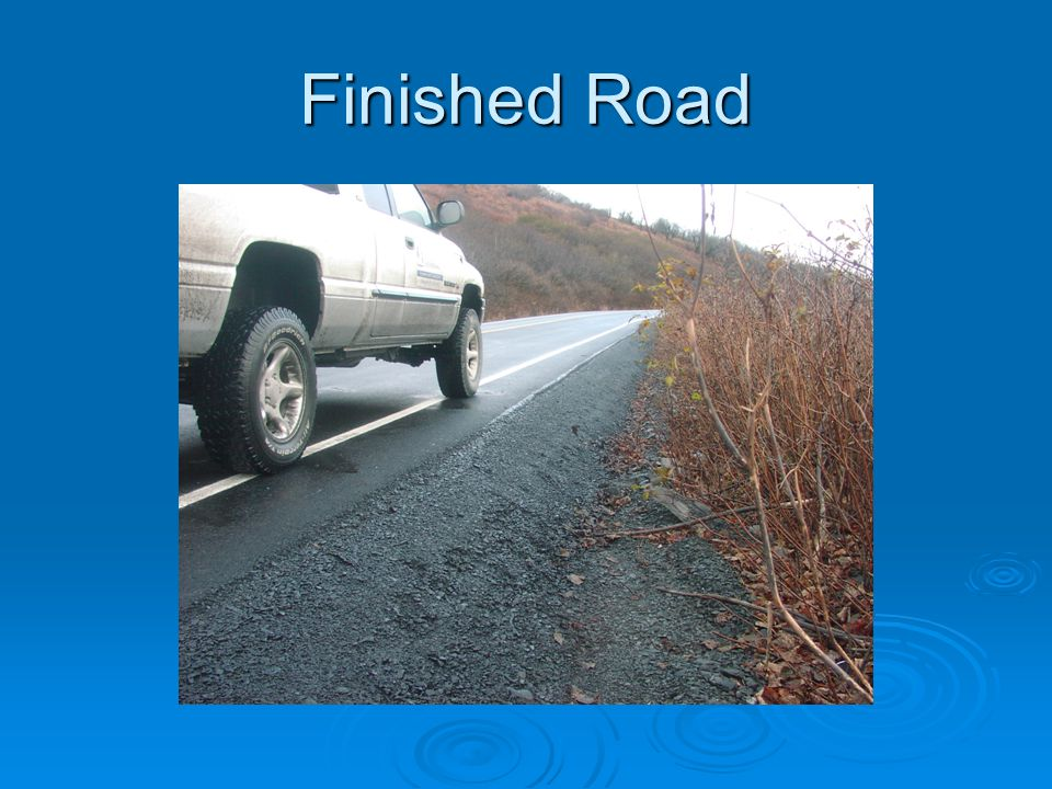 Finished Road