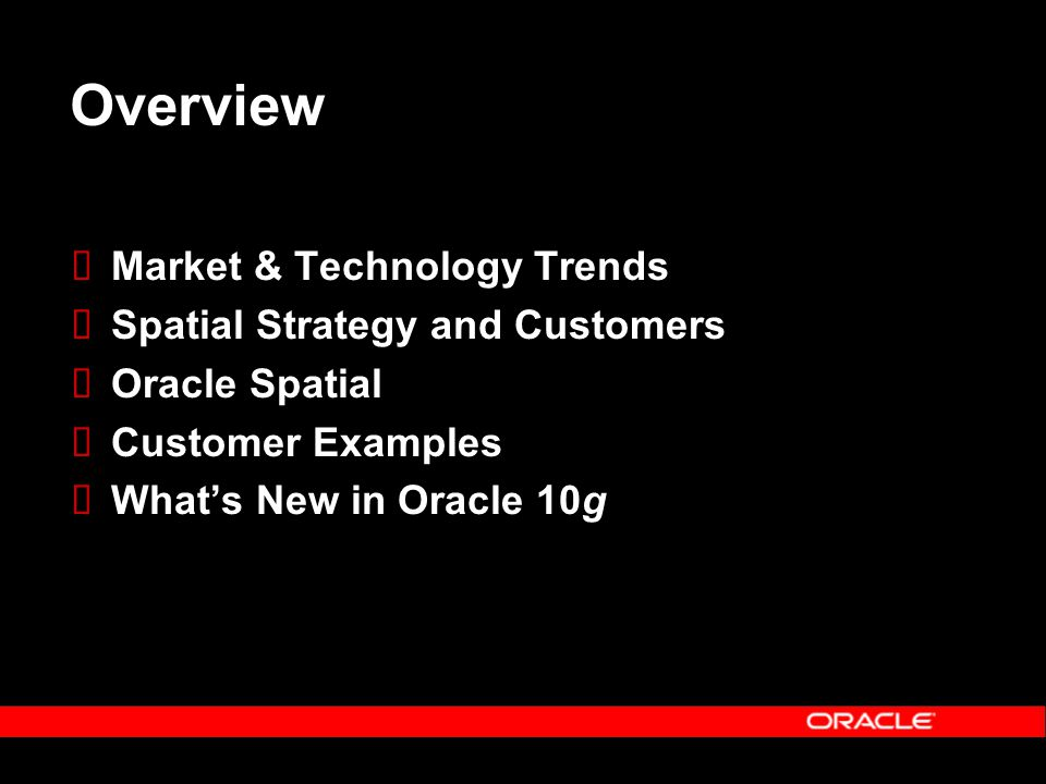 Outage Mgmt Approach 2: Spatially-enabled Business Apps Java SQL XML/SOAP Oracle10g Spatial Web Services Asset Mgmt MicroStation ProjectWise CIM/CRM SQL Mobile Clients Files
