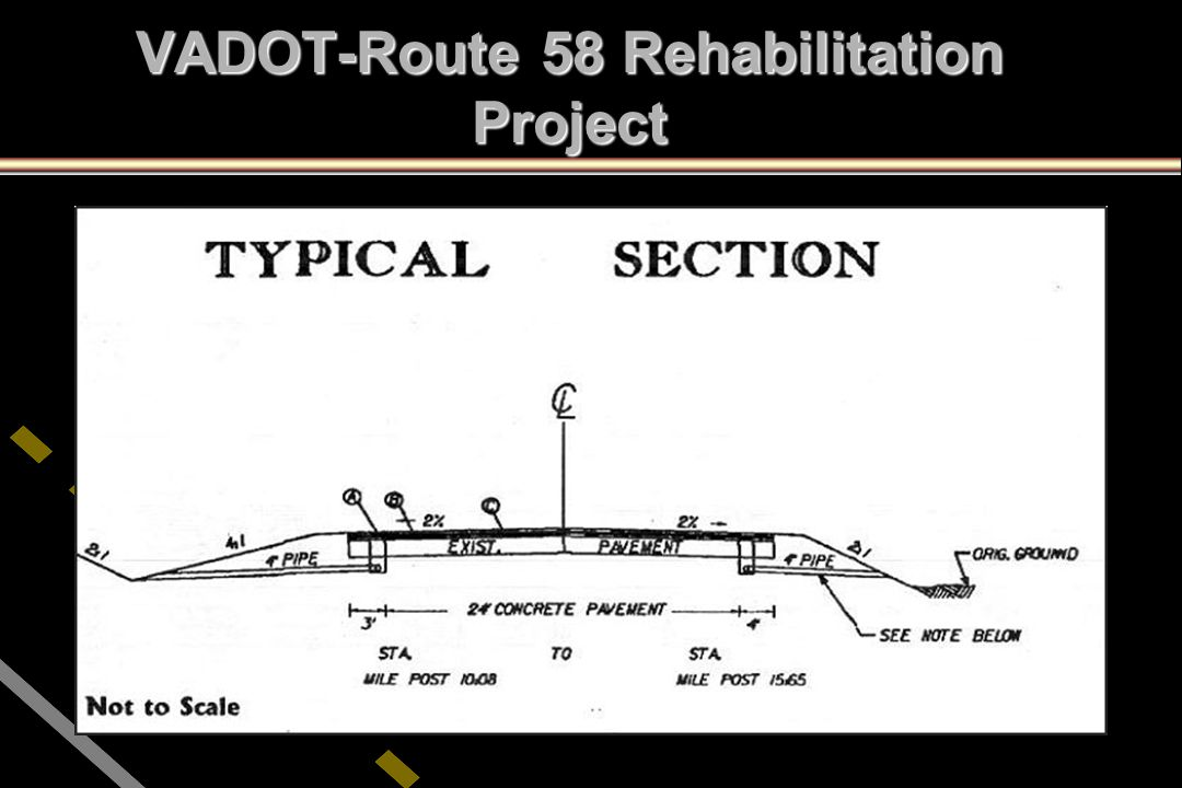 VADOT-Route 58 Rehabilitation Project