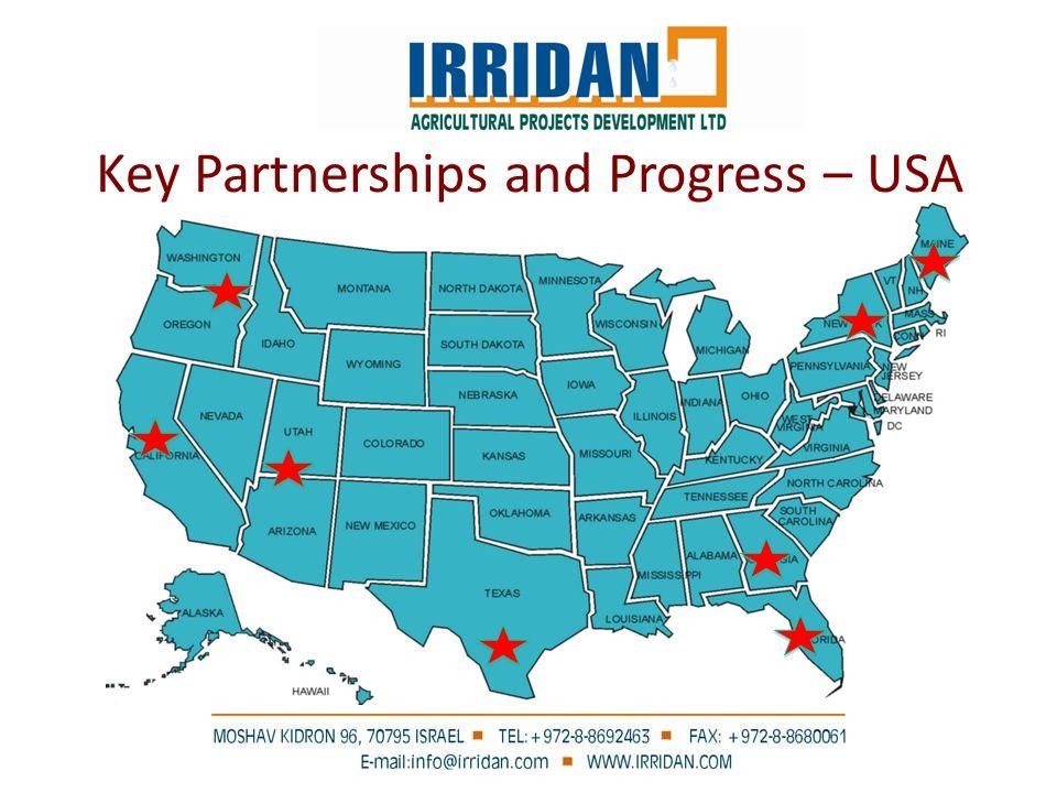 Key Partnerships and Progress – USA