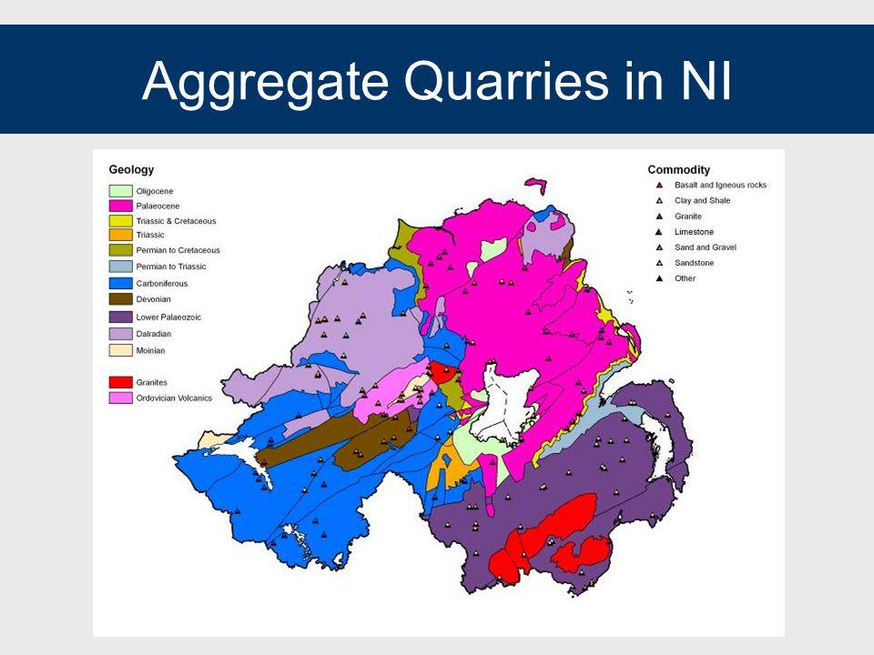 Aggregate Quarries in NI