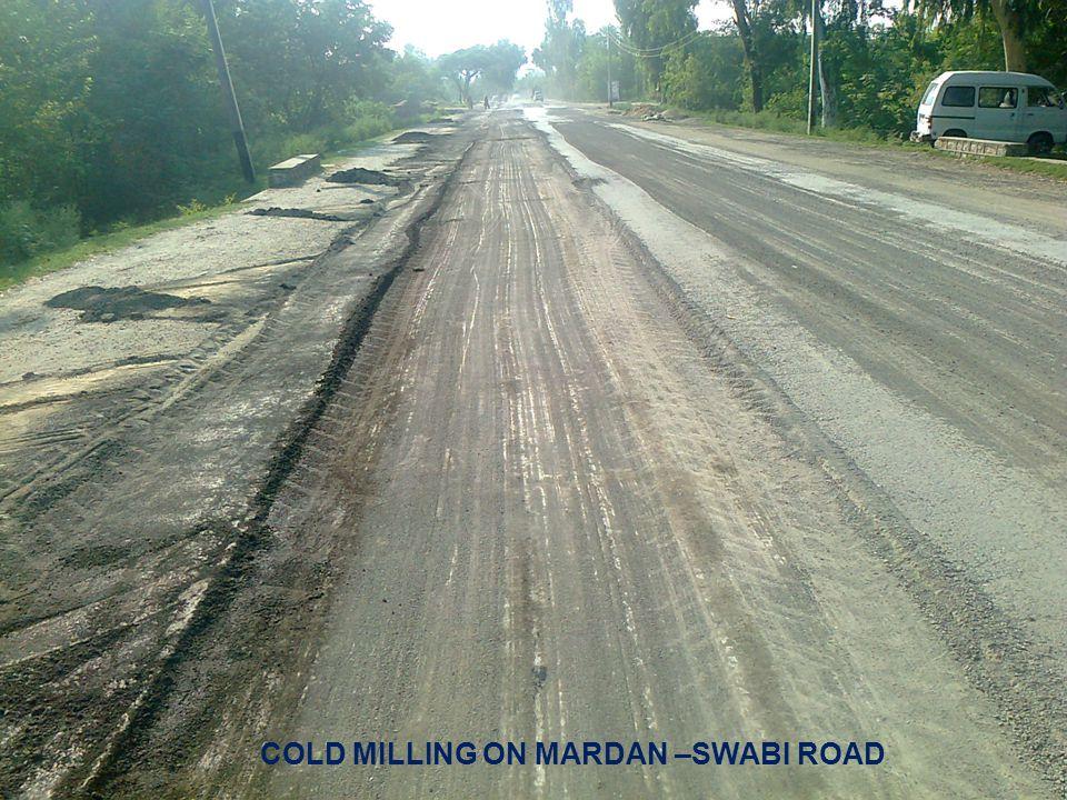 30 COLD MILLING ON MARDAN –SWABI ROAD