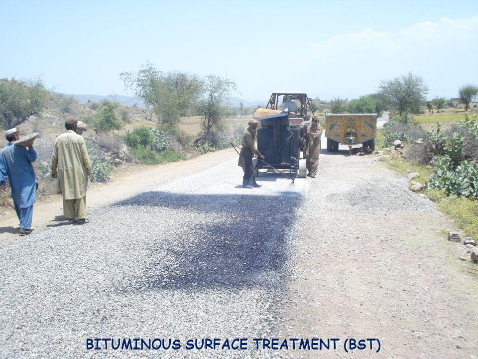 39 BITUMINOUS SURFACE TREATMENT (BST)