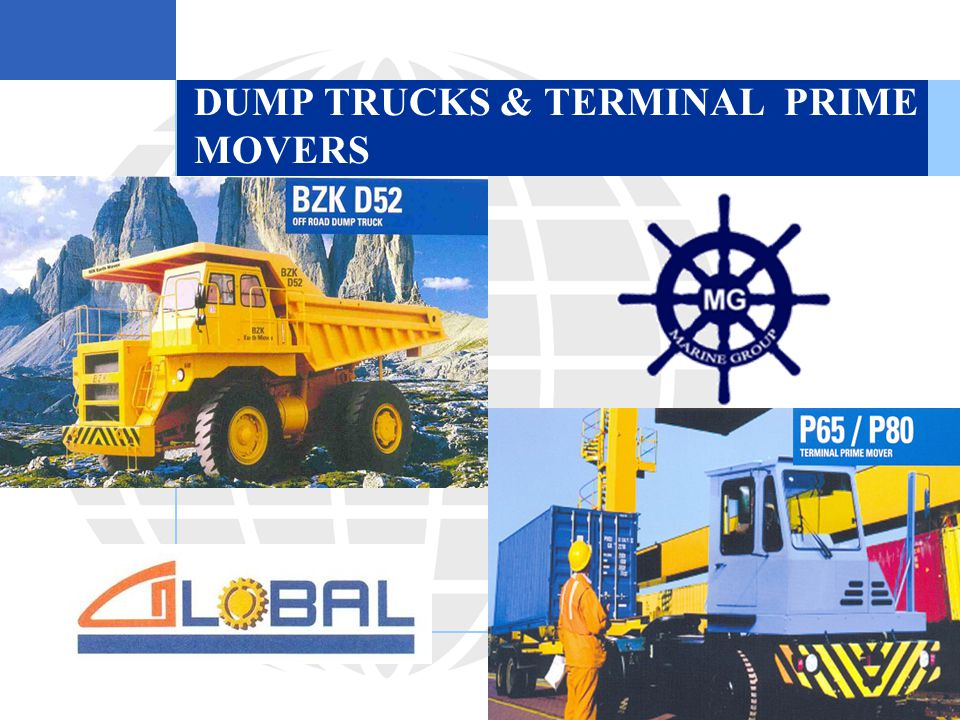 DUMP TRUCKS & TERMINAL PRIME MOVERS  Picture.