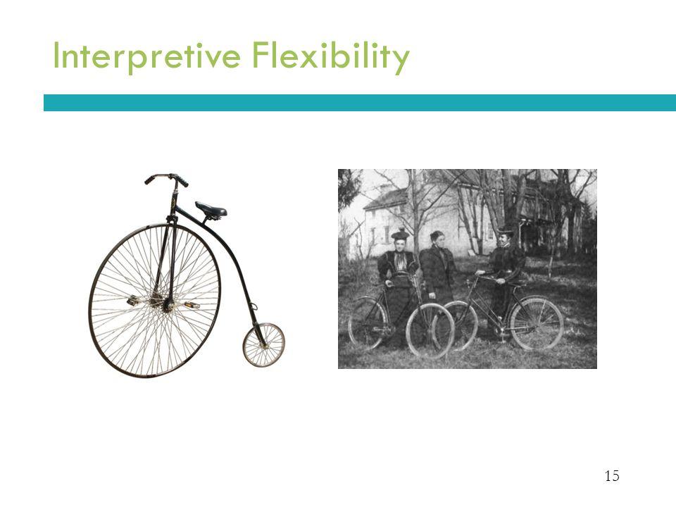 15 Interpretive Flexibility