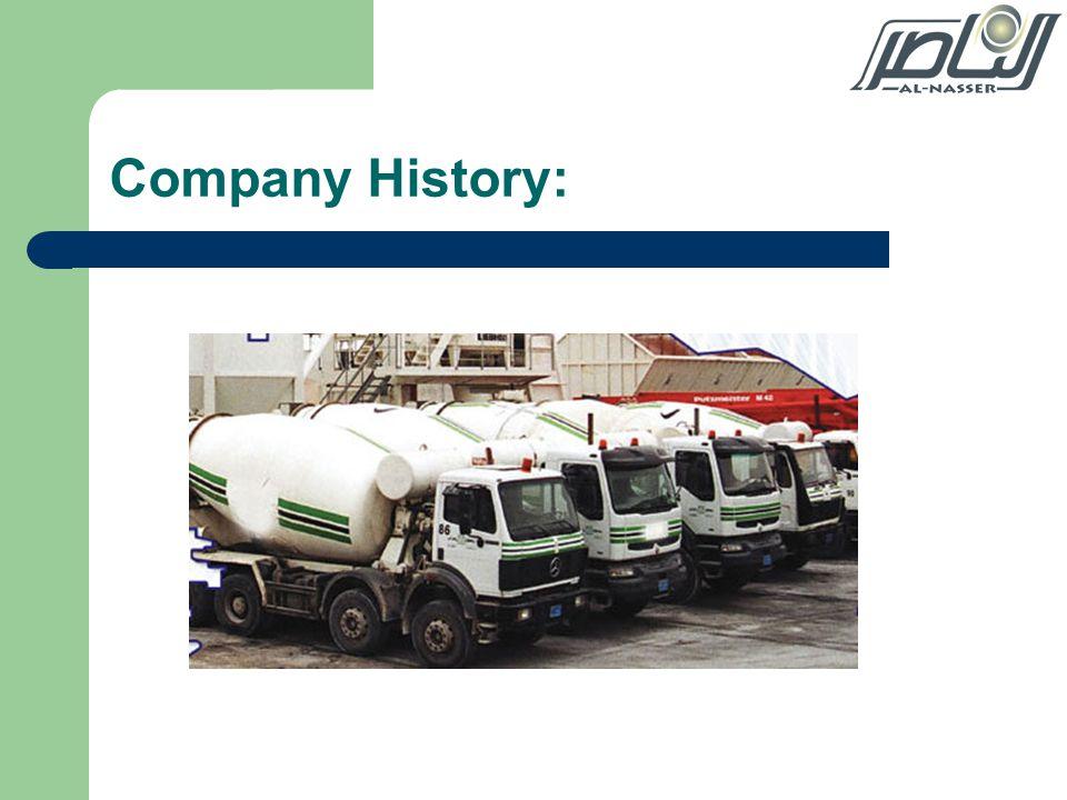 Company History: