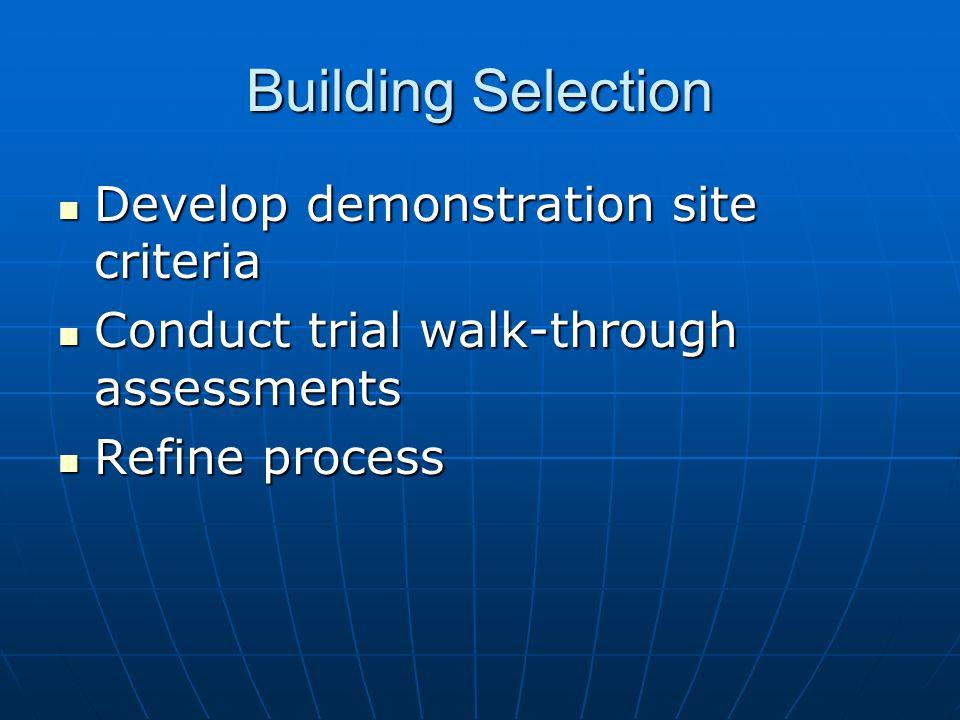 3. Begin field activity. Program Implementation
