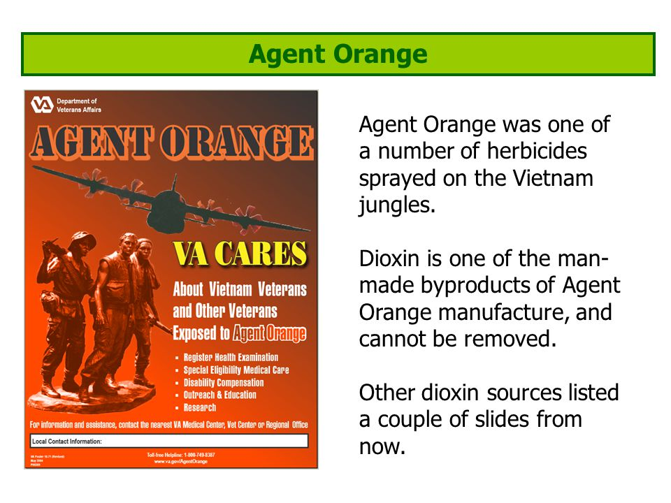 Agent Orange Agent Orange was one of a number of herbicides sprayed on the Vietnam jungles.