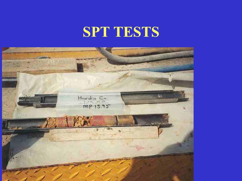 SPT TESTS