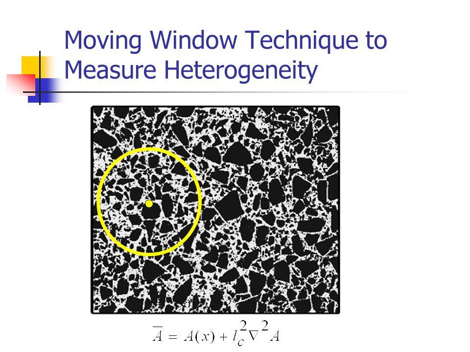 Moving Window Technique to Measure Heterogeneity