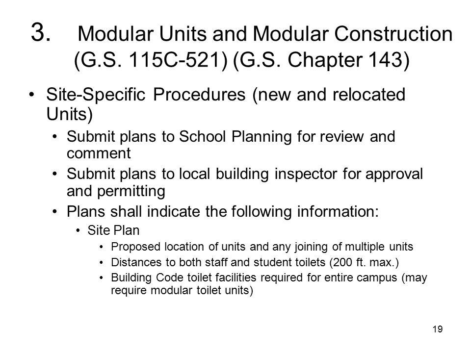 19 3. Modular Units and Modular Construction (G.S.